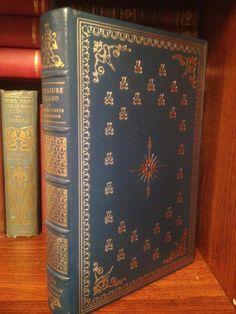 Treasure Island Robert Louis Stevenson Franklin Library Full Leather Greatest