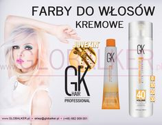 Farby do włosów kremowe GK Hair Juvexin Cream Color Global Keratin Juvexin Warszawa Sklep #no.1 #globalker  http://globalker.pl/farby/1207-gk-hair-farba-cream-color-100ml-global-keratin-815401016945.html