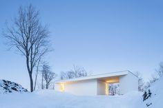 Nook Residence / MU Architecture. Photograph by Ulysse Lemerise Bouchard
