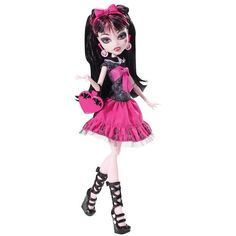 Monster High Draculaura Doll ❤ liked on Polyvore featuring monster high and toys