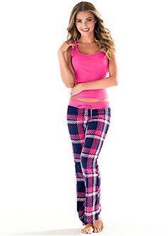 bc87bb80ff Sale on Sexy Women s Sleep Wear by VENUS Plaid Pajamas