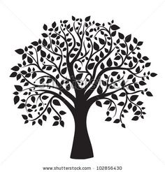 Bildergebnis für tree silhouette