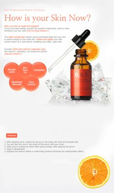 OST C 20 Original Pure Vitamin C20 Serum 30ml  FeaturesItem packing design has been changed recently but the contents is totally same. Please check the detail picture before order.  GET THE FRESHEST ITEM!! - Contains 100% pure vitamin C, not vitamin C der