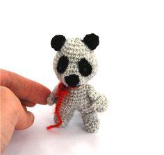 amigurumi little raccoon animal, crochet raccoon doll, sweet small animal doll, woodland nursery decor, #raccoon animal figurine, wild spring, #handmadeby crochAndi  $21.64