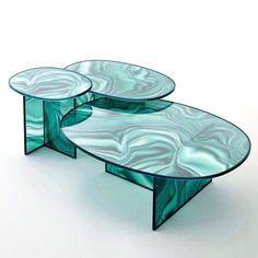 """2,004 Likes, 16 Comments - Patricia Urquiola (@patricia_urquiola) on Instagram: """"@glasitalia #liquefy #tables #design #patriciaurquiola PU"""""""