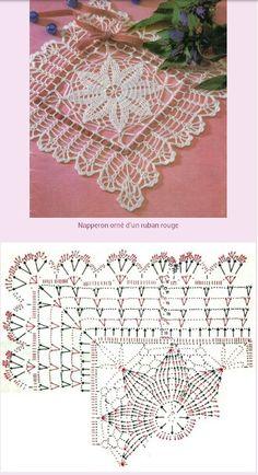 Mandala Rug, Crochet Mandala, Crochet Motif, Crochet Doilies, Crochet Lace, Crochet Patterns, Manta Crochet, Crochet Tablecloth, Crochet Squares
