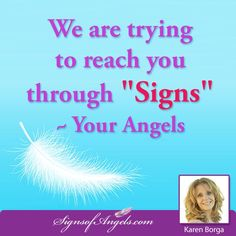 Are you receiving SIGNS? 10 Most Common Signs from Angels => http://ow.ly/WSWh1