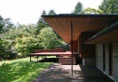 Haus im Wald hanareyama große offene veranda