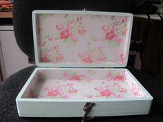 Floral decopatch box