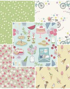 Picnic In The Park Fabric Bundle Two - Main -