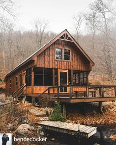 There are many myths about owning or buying log cabins. Myths that have discouraged many from buying or building a log cabin. Cabin Plans, House Plans, Little Cabin, Log Cabin Homes, Log Cabins, Cabins And Cottages, Cozy Cabin, Cabins In The Woods, Future House