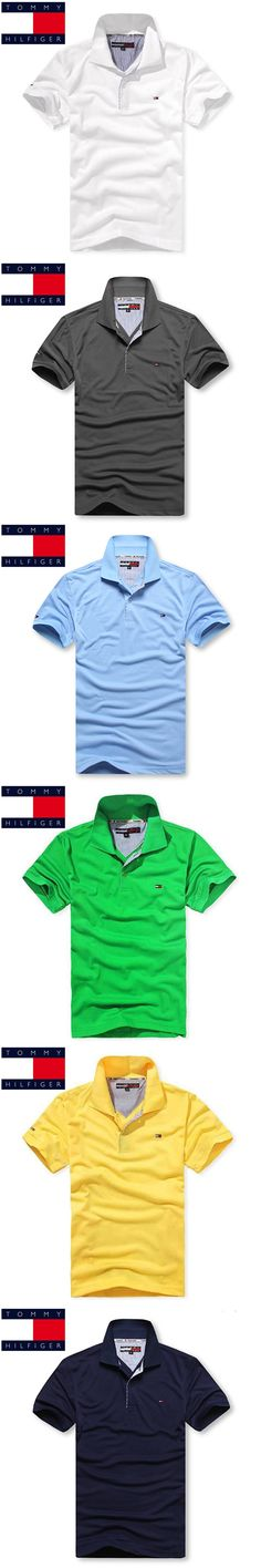 TOMMY HILFIGER Business Office Polo Shirt 2018 New Brand Men Clothing Solid Mens Polo Shirts Casual Poloshirt Cotton Breathable