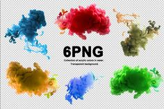 PNG acrylic colors blots by Liliia Rudchenko on Abstract Photos, Abstract Backgrounds, Acrylic Colors, Background Patterns, Your Design, Design Inspiration, Texture, Creative, Illustration