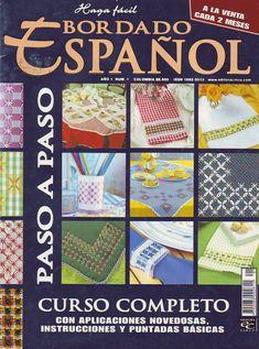 Revistas De Manualidades Gratis Bordado Español Paso A Curso