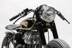 'Brass Rajah' Royal Enfield 350 - Mid Life Cycles.   Some brands transcend their own industry and become part of a culture so linked that one simply goes hand in hand with the other. If you mention motorcycles and India everyone's mind is instantly drawn to the name Royal Enfield and their classic designs that have been around for generations. Enfield's have been the transport of...
