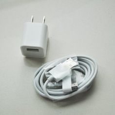 Wall AC Charger USB Sync Data Cable for iPhone 4, 3GS, and iPod --- http://www.amazon.com/Wall-Charger-Sync-Cable-iPhone/dp/B003ZA4KLW/ref=sr_1_35/?tag=miningbitcoin-20