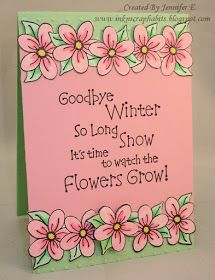 """Yeah, it's the First Day of Spring! I'm ready to say """"So Long Winter!"""" In hono… - Spring Crafts For Kids St Patricks Day Quotes, Spring Bulletin Boards, Spring Quotes, Origami, Decoupage, Spring Crafts For Kids, First Day Of Spring, Card Sentiments, Scrapbook Cards"""