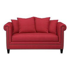 Find a comfortable sofa for your living room. Whether you're looking for something classic or custom, discover seating that complements your style. Bedroom Seating, Comfortable Sofa, Crate And Barrel, Sofas, Love Seat, Master Bedroom, Couch, Living Room, 3d