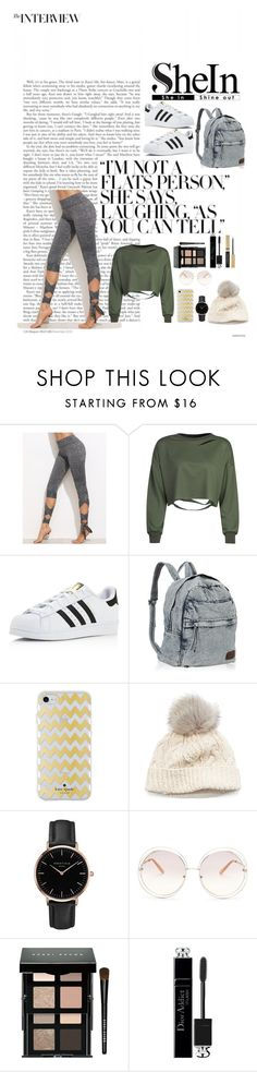 """""""SheIn"""" by gsfstyle ❤ liked on Polyvore featuring WithChic, adidas, Kate Spade, SIJJL, Topshop, Chloé, Bobbi Brown Cosmetics and Christian Dior"""
