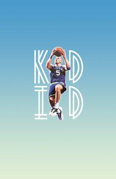 Jason Kidd poster, designed by Oscar Saragossi.