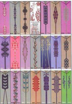 Broderie marocaine Border Embroidery Designs, Cutwork Embroidery, Shirt Embroidery, Embroidery Patterns Free, Machine Embroidery, Morrocan Dress, Moroccan Caftan, Kaftan Abaya, Caftan Dress