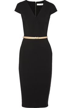 Victoria Beckham    Draped stretch-jersey dress