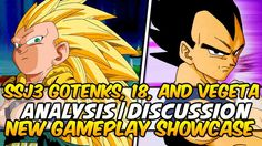 Dragon Ball Xenoverse Gameplay Super Saiyan 3 Gotenks, Android 18, & Veg...