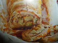 un mondo di ricette: rotolo di fagiano  con pere e castagne -  per capo...