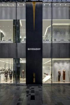 Givenchy opens its first store in Tokyo