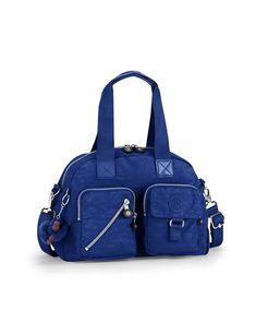 1eb205634 Kipling Women s Defea French Blue Handbag NEW!! MSRP  129 ORIGINAL  Kipling   ShoulderBag