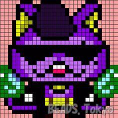 Parlorbeads_Yokai-Watch_warunyan_002.jpg 411×411 ピクセル