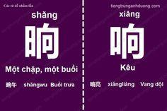 Các cặp chữ Hán dễ nhầm lẫn (phần 3)