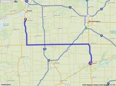 Driving Directions from Clinton, Illinois to 203 Main St, South Pekin, Illinois 61564 | MapQuest