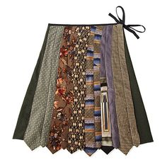 NECKTIE SKIRT | Vintage Tie Skirt | UncommonGoods  love this, i have a bunch of my dad's old ties!