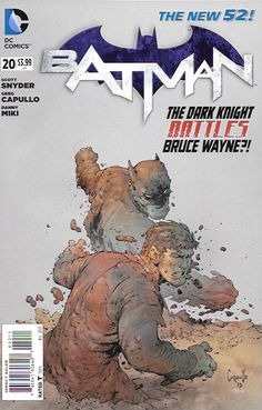 Nowhere Man: Part 2/ Ghost Lights Part 2 __Written By Scott Snyder, James TynionIV , Art And Cover By Greg Capullo & Alex Maleev , The Story ....A strange visitor comes to Gotham City when tragedy del