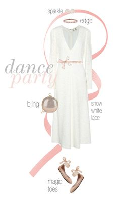 """Dance!"" by maxfield ❤ liked on Polyvore featuring Yves Saint Laurent, Halston Heritage, Valentino and Kimberly McDonald"