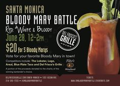 6/28/15  Santa Monica Bloody Mary Battle Tickets, Santa Monica | Eventbrite