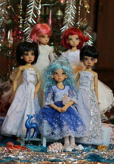 Рождество и куклы Кае Виггс / Куклы Кайе Виггз, Kaye Wiggs dolls / Бэйбики. Куклы фото. Одежда для кукол