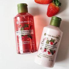 raspberries & mint