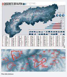 Alle Skigebiete der Alpen auf 1 Karte - Crowdfunding The alps: 636 ski resorts - One map