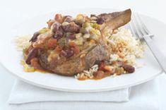 Southwest Pork Chops & Rice recipe