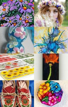Flowers, Flowers, Everywhere! by June Rollins on Etsy--Pinned with TreasuryPin.com