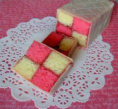 Traditional Battenberg Cake