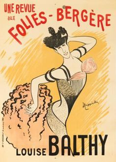 Louise Balthy / Folies-Bergere. 1902  LEONETTO CAPPIELLO (1875-1942)