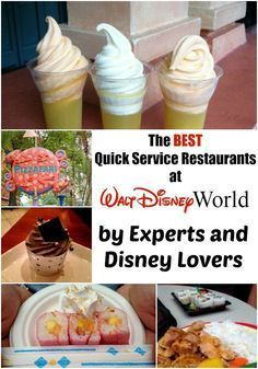 Best Quick Service restaurants at Walt Disney World straight from experts and WDW lovers!
