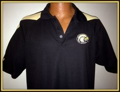 SOUTHERN MISSISSIPPI GOLDEN EAGLES ADULT XLARGE EMBROIDERED POLO GOLF SHIRT NWOT #HOLOWAY #MississippiStateBulldogs