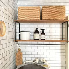 Have a nice DIY. Bakery Interior, Room Interior, Bathroom Toilets, Diy And Crafts, Kitchen Cabinets, Shelves, Nice, Storage, House