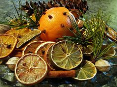 Fresh Pine and Citrus to make your home smell fresh