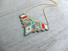 My-French-Touch - Collier ★ Aztec ★ plaqué or