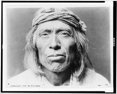 Shiwawatiwa, a Zuni Man - Curtis - 1903